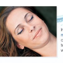 In a Wellness-Spa center: medi stream spa changes unpleasant tensions into relaxed well-being in 15 minutes.