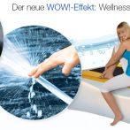 NM StreamLine. Wasser-Massage-Liegen mit WOW!-Effekt.